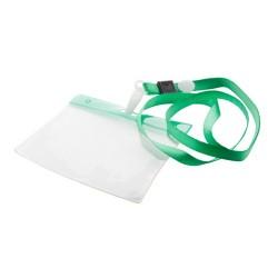 Maes passztartó nyakpánttal, zöld