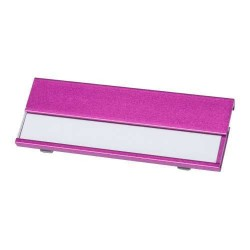 Bindel névtábla, pink