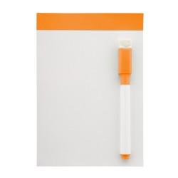 Yupit mágneses üzenőtábla, narancssárga