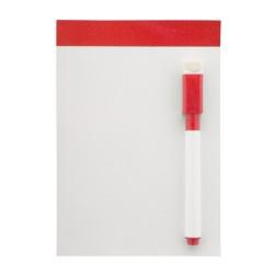 Yupit mágneses üzenőtábla, piros