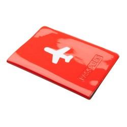 Klimba útlevél tartó, piros