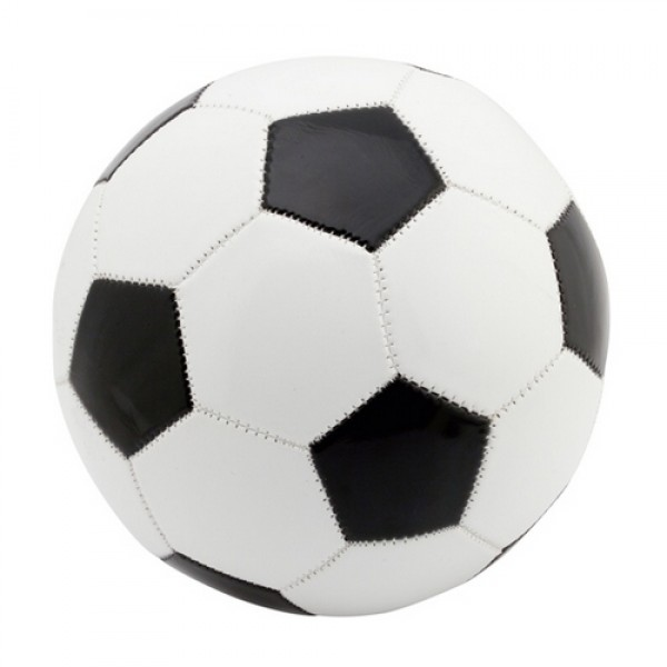 Delko futball labda, fekete