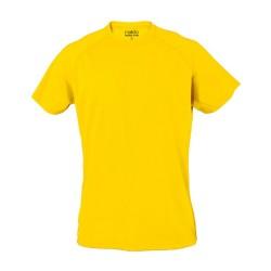 Tecnic Plus T felnőtt póló, sárga
