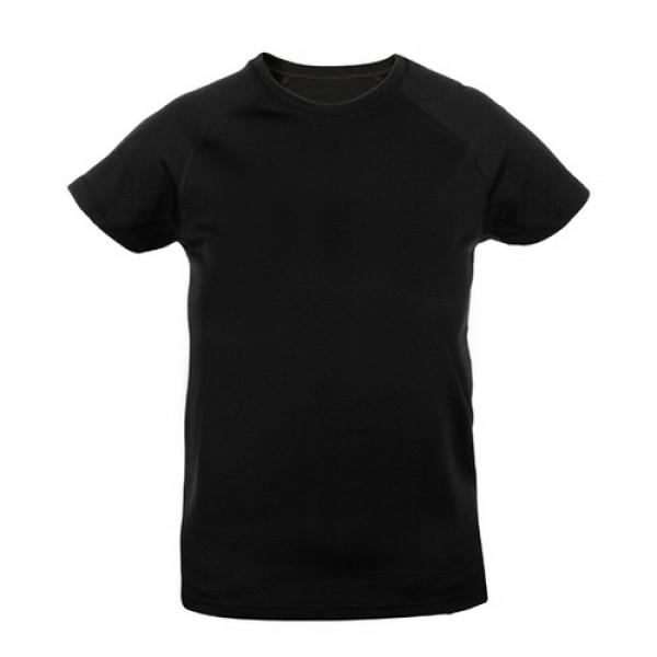 Tecnic Plus K gyermek póló, fekete