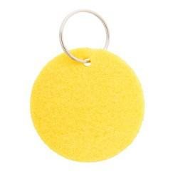 Nicles kulcstartó, sárga