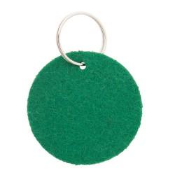 Nicles kulcstartó, zöld