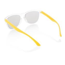 CreaSun egyedi napszemüveg - szár, sárga