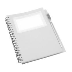 Tagged jegyzetfüzet, fehér