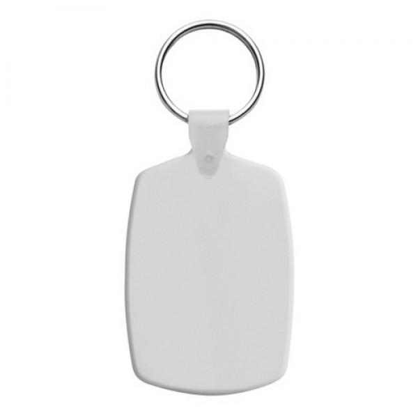 Slice kulcstartó, fehér