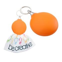 Sight szemüvegtörlő kendő, narancssárga