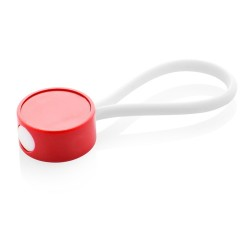 CreaKey egyedi kulcstartó- fejrész, piros