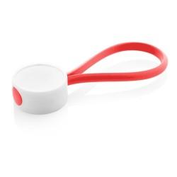 CreaKey egyedi kulcstartó- hurok rész, piros