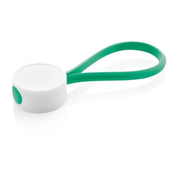 CreaKey egyedi kulcstartó- hurok rész, zöld