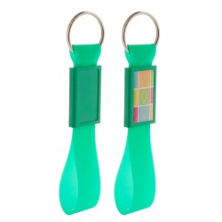 Domix kulcstartó, zöld
