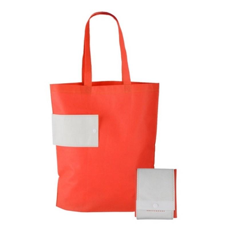 Összehajtható bevásárlótáska Piros