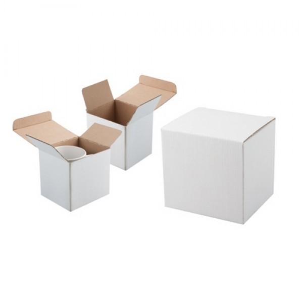 Three bögre doboz, fehér