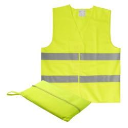 Visibo Mini jólláthatósági mellény, gyerek, sárga