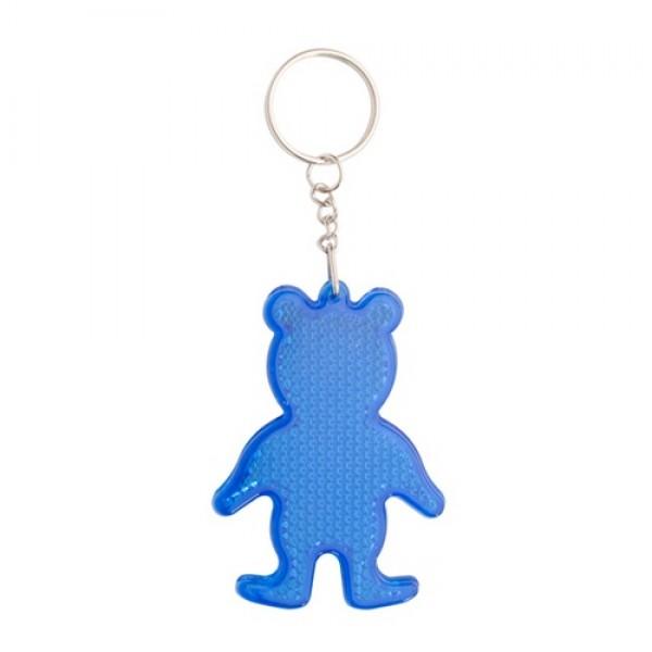 Safebear kulcstartó, kék
