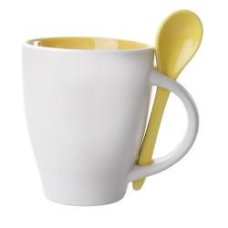 Spoon bögre, sárga