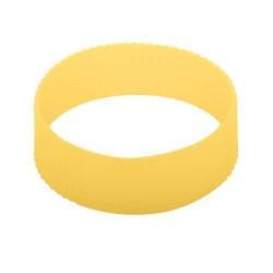 CreaCup egyediesíthető thermo bögre, markolat, sárga - C