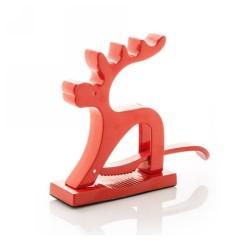 Reindeer diótörő, piros