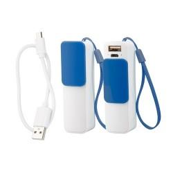Slize USB power bank, kék