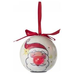 Karácsonyfadísz, világító, mikulásos