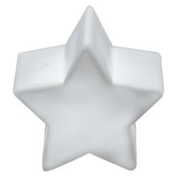 Csillag alakú LED lámpa, fehér