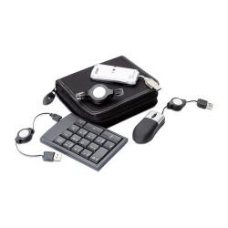 TAU Számítógép tartozék készlet , fekete