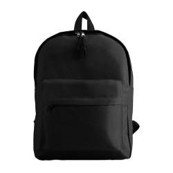 BAPAL 600D poliészter hátizsák, fekete