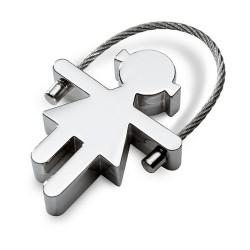 MARIANA Fém kulcstartó, ezüst