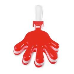 CLAP Kéz alakú kereplő, piros