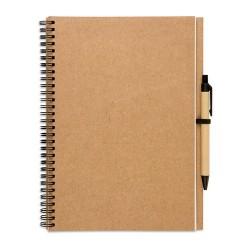 BLOQUERO PLUS Jegyzetfüzet és toll , többszínű