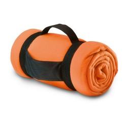 STAVENGER Polár takaró, narancssárga