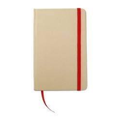 EVERNOTE Újrahasznosított jegyzetfüzet , piros