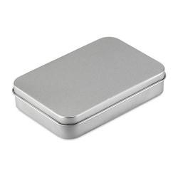 AMIGO Kártya bádogdobozban, ezüst