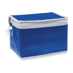 PROMOCOOL Hűtőtáska 6 db üdítősdobozhoz , kék