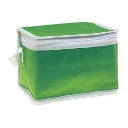 PROMOCOOL Hűtőtáska 6 db üdítősdobozhoz , zöld