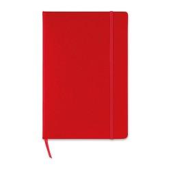 SQUARED A5-ös négyzetrácsos notesz, piros