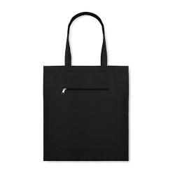 MOURA Vászon bevásárlótáska , fekete