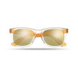AMERICA TOUCH Tükörlencsés napszemüveg, narancssárga