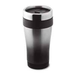 TRAM TOUCH 455 ml-es duplafalú bögre, fekete