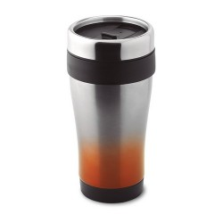 TRAM TOUCH 455 ml-es duplafalú bögre, narancssárga