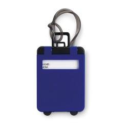TRAVELLER Műanyag bőröndcímke, kék