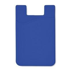 SILICARD Szilikon kártyatartó, kék