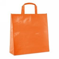 BOQUERY PP woven táska laminálással, narancssárga