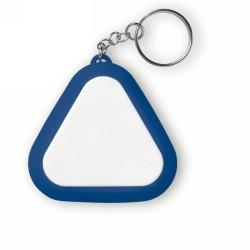 MUSI SOFT Fülhallgató kulcstartós tokban, kék