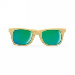 WOODIE Fa hatású napszemüveg, fa
