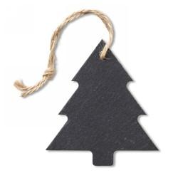 Palalemez karácsonyfadísz, fekete