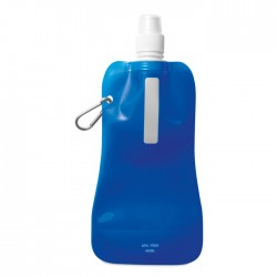 Gates Összehajtható vizes palack, áttetsző kék